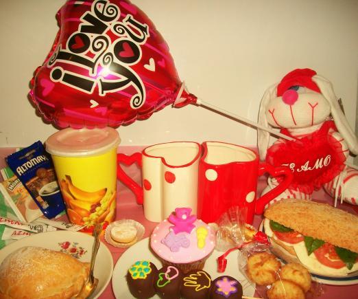 Desayuno Dulce Amor Ahora Desayunos Por San Valentin